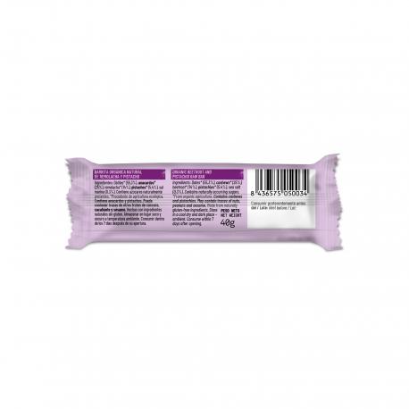 Barrita de remolacha y pistachos 40g