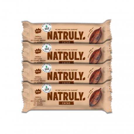 Barrita Energética de Cacao Pack 4 uds. | BIO