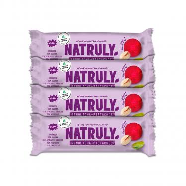 Natural Snack Pack Nueces de brasil, coco y pasas x4