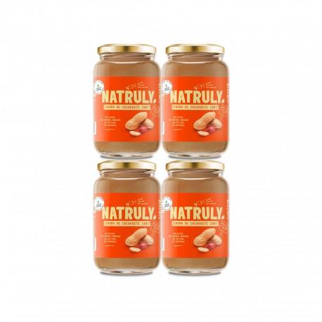 Natural Peanut Butter 4x500g