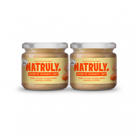 Crema de Cacahuete Orgánica | Pack de 2x300g