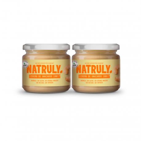 Crema de Anacardos Orgánica | Pack de 2x300g