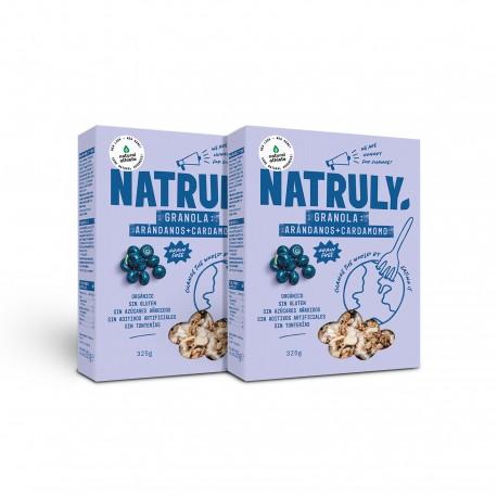 Natural Granola- Cranberries, Amaranth & Cardamom