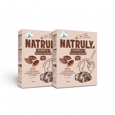 Natural Granola- Cocoa, Coconut & Quinoa *ORGANIC