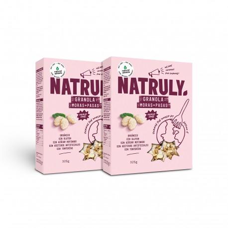 Natural Granola- Mulberries & Raisins *ORGANIC