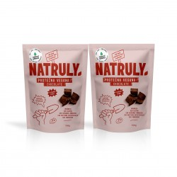 Proteína Vegana de Chocolate Pack 2 uds | Natural