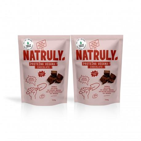 Pack Chocolate Vegan Protein. 2x350g