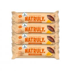 Barrita Energética de Cacao y Naranja | BIO Pack 4 uds
