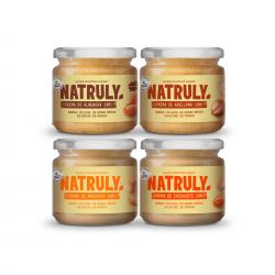 Cremas de Frutos Secos Orgánica | Pack Degustación 4x300g