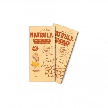 Pack 2x Chocolicious - Naranja y Jengibre | 85g