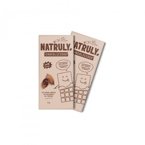 Natural cacao soluble
