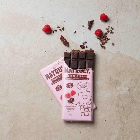 Pack 2x Chocolicious - Frambuesa y Nibs de Cacao | 85g