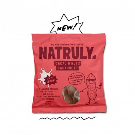 Cacao & Nuts con Leche - Cacahuete recubierto de Chocolicious con Leche | 85g