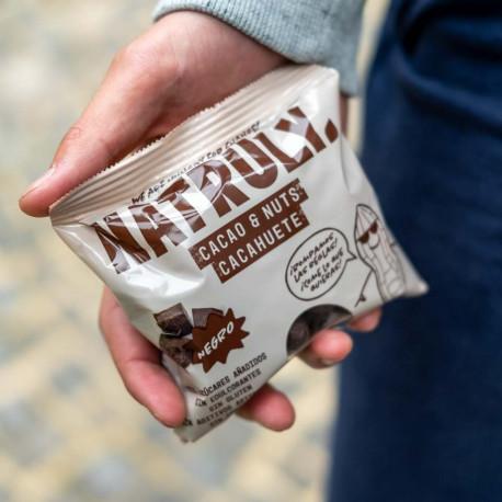 Cacao & Nuts - Cacahuete recubierto de Chocolicious Negro | 85g