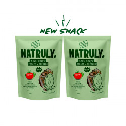 Pack 2x Kale chips - Tomate y Orégano |2x30g