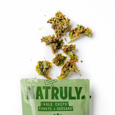 Kale chips - Tomate y Orégano   30g